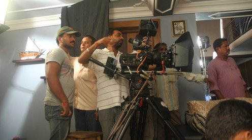 The Lal Odhani technical team in action
